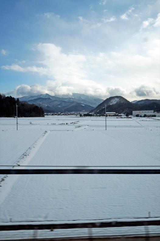 Arrivo a Kyoto con la neve