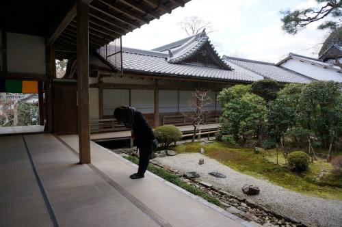 Maiko nel tempio