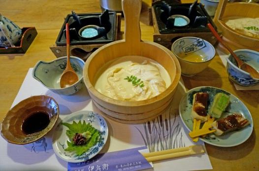 Pranzo a base di tofu