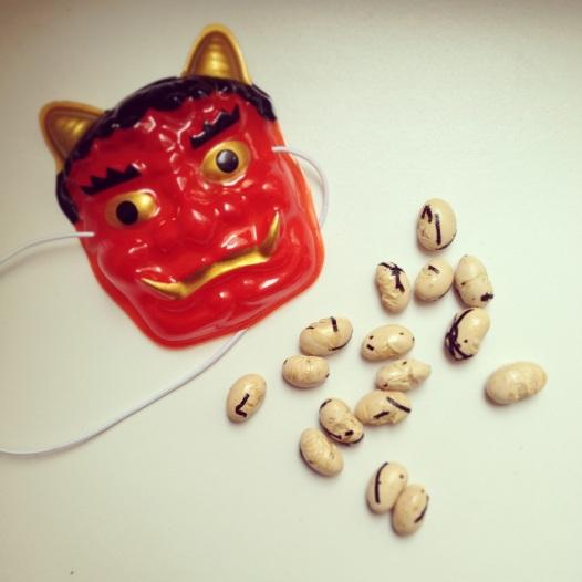 Tutto il necessario per il mamemaki (豆撒き)