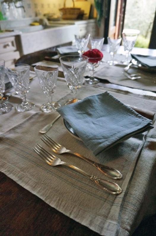 La tavola imbandita