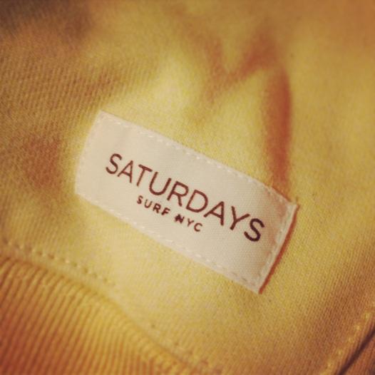 My new yellow sweatshirt