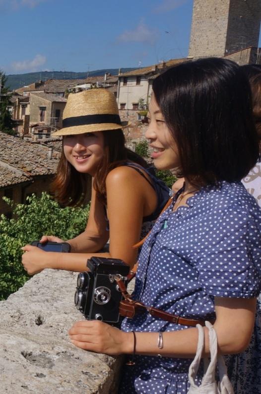 Maiko & Kuriko a San Gimignano
