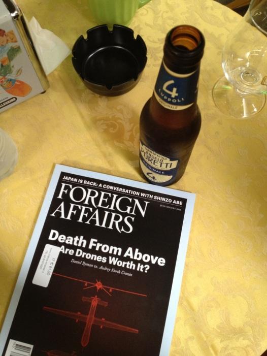 Birra e panino milanesi (ovvero: JAPAN IS BACK!)
