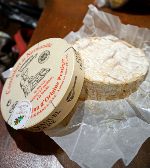 Gold medal 2013 Camembert
