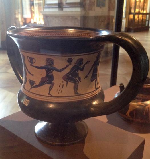 Curiosando tra i vasi, ovvero epica ed ironia