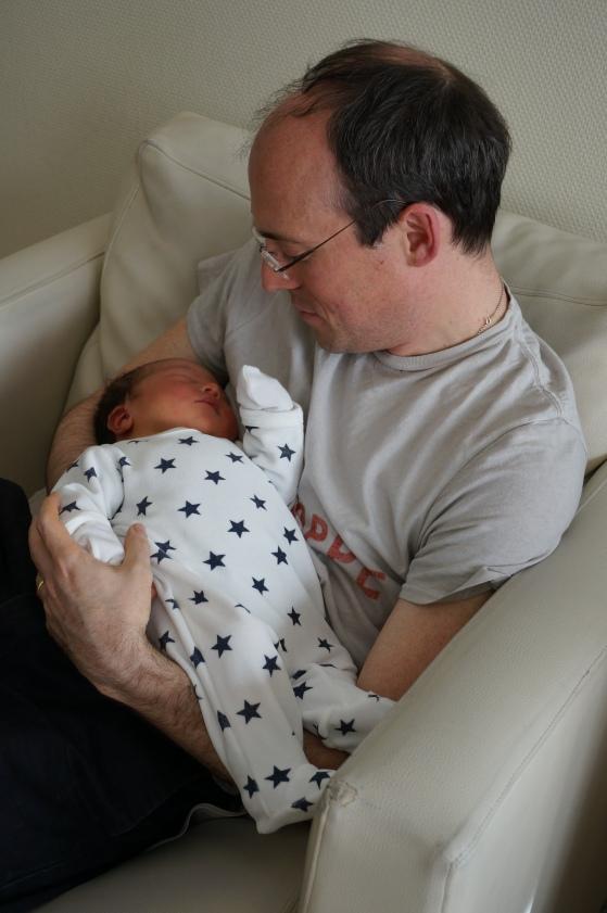 Con il suo papà