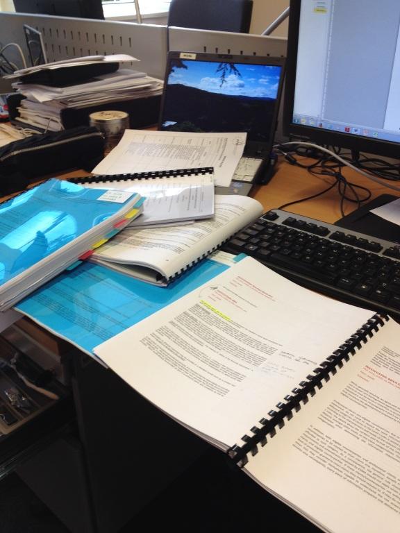 Chotto al lavoro, ovvero qualche centinaio delle migliaia di pagine da leggere su MiFID 2