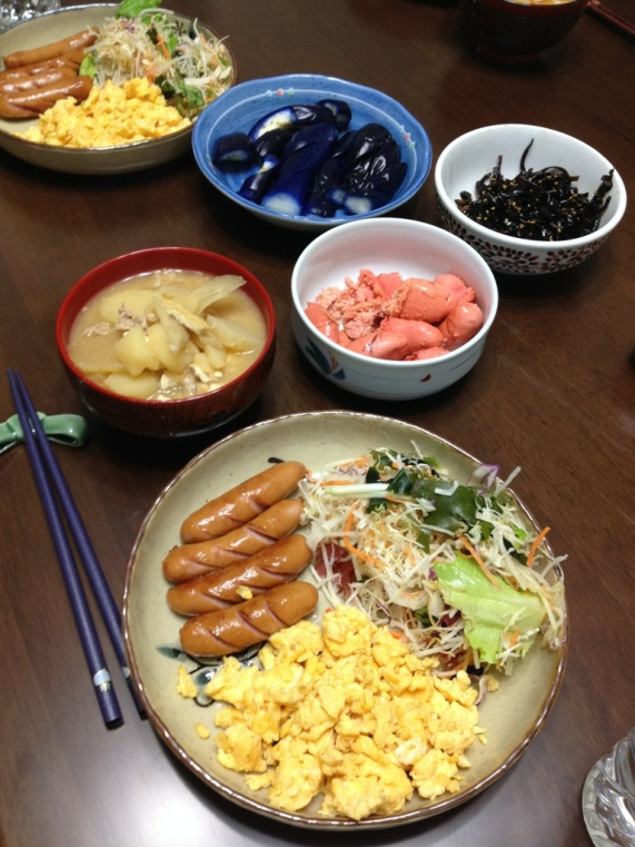 I love Japanese breakfast